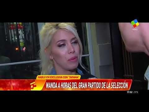 """Wanda Nara negó en """"Infama"""" los rumores de crisis con Icardi"""