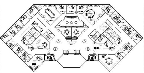 1000 images about commercial floor plans on pinterest for Commercial floor plans