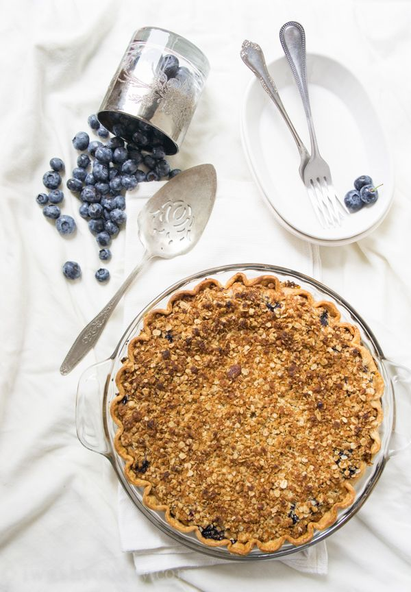 Blueberry crumb cake calories