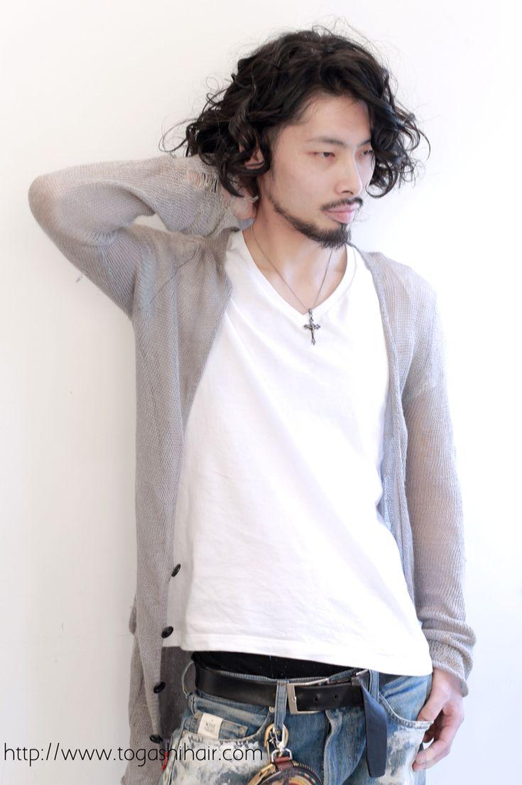 【togashihair】メンズ黒髪ラフパーマ http://www.togashihair.com/?p=4206 《#メンズヘアスタイル#メンズカット#menshairstyle#パーマ》