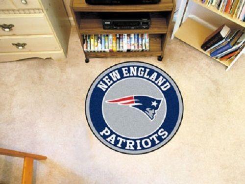 New England Patriots 29'' Round Mat Rug Mancave #NewEnglandPatriots