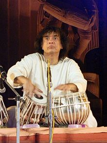 Zakir Hussain - phenomenal tabla player