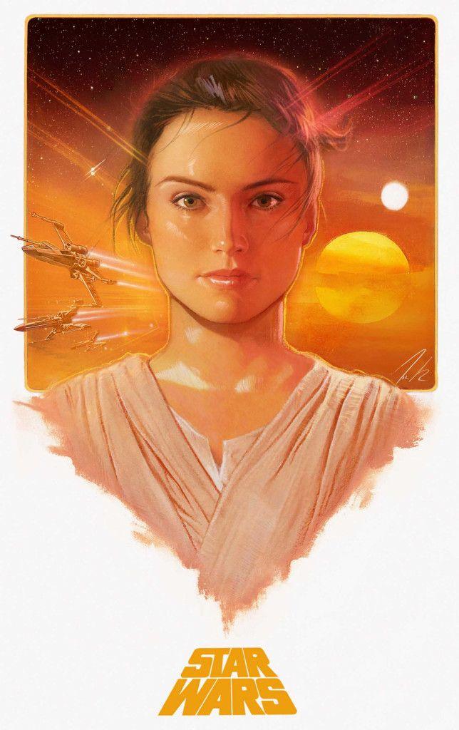 Lucasfilm dévoile une belle sélection de fan arts consacrés à Star Wars : The Force Awakens