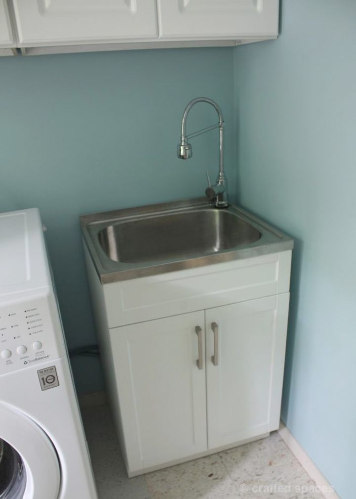 Laundry Room Utility Sink Cabinet 8 Best Laundry Room Ideas Care Laundry Room Sink Laundry Room Makeover Basement Laundry Room