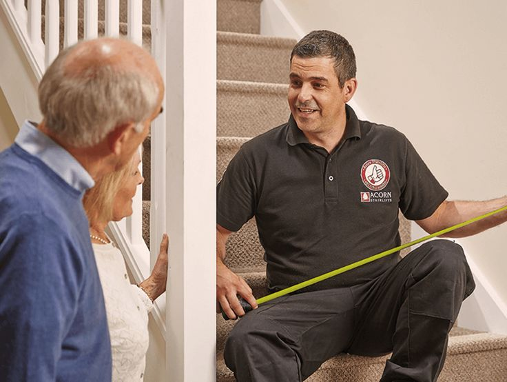 Acorn stairlift hinged rail option free quotes free