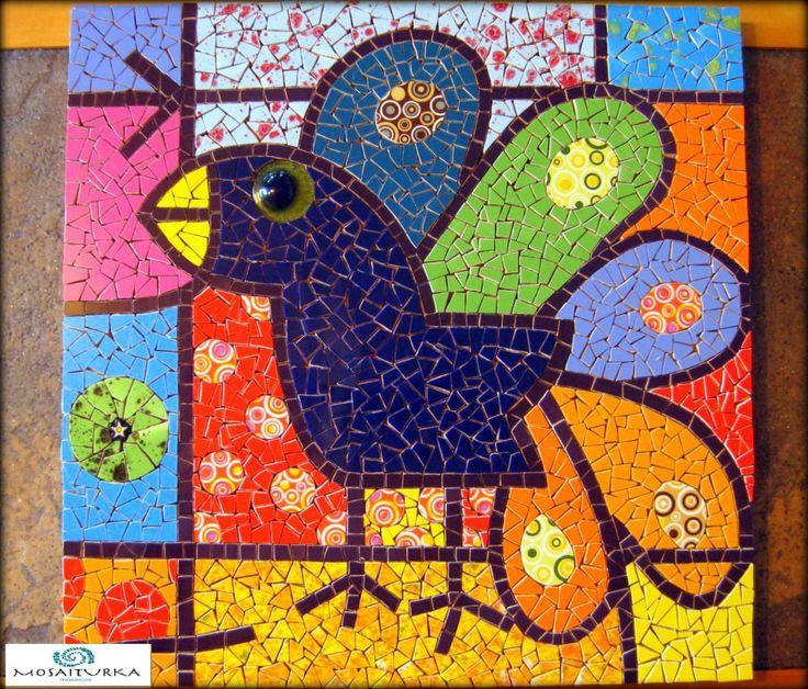 MosaicOs Mosaiturka ~ Mosaico inspirado en Romero Britto