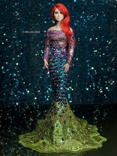 For Sell --- repaint FR Jems and Mermaid Dress | Check out t… | Flickr