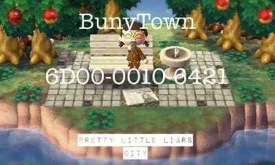 Pretty little liars town animal crossing new leaf dream code - #acnl #acnlwa #pll