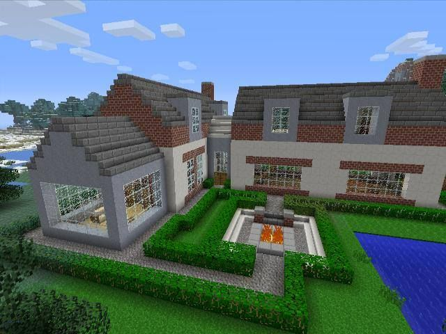 25 best ideas about cool minecraft houses on pinterest for Awesome modern houses