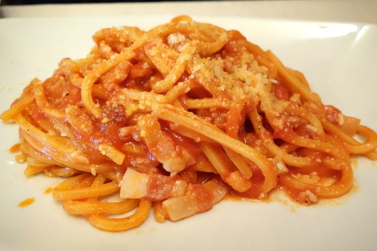 amatriciana at ragno d'oro