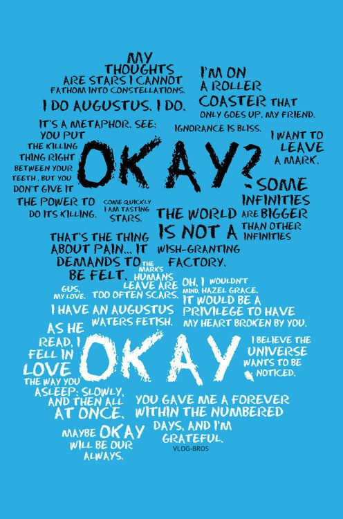 booksdirect:  Quotes from The Fault in Our Stars by John Green.