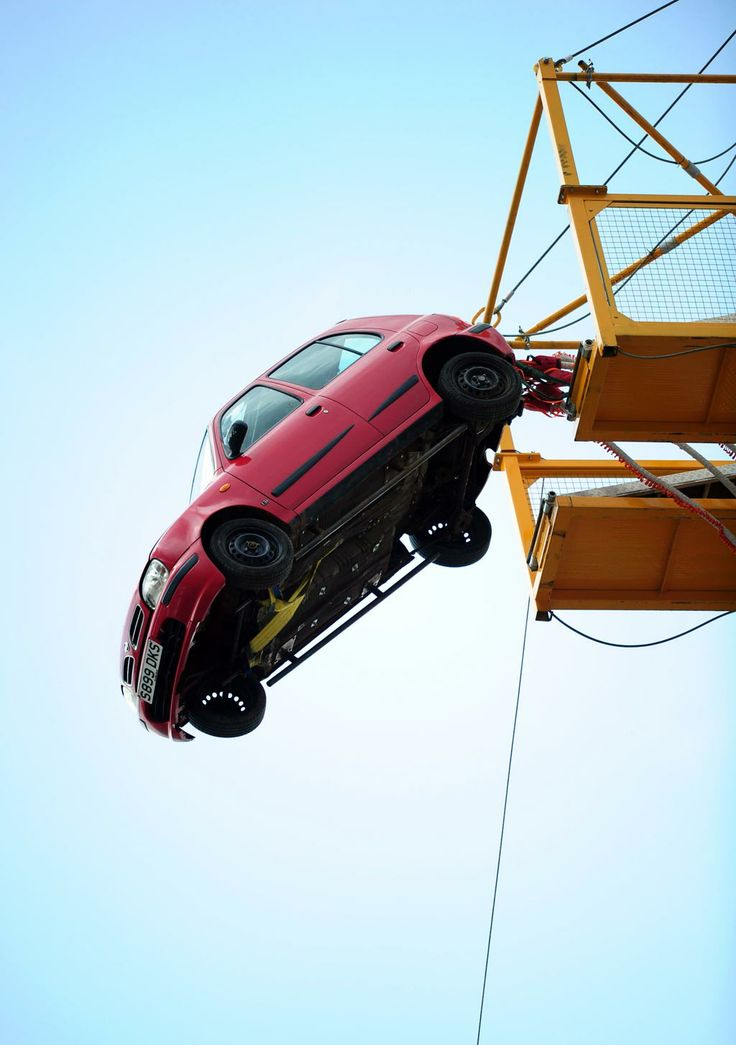 Car Bungee Jump during the Top Gear Sydney festival!
