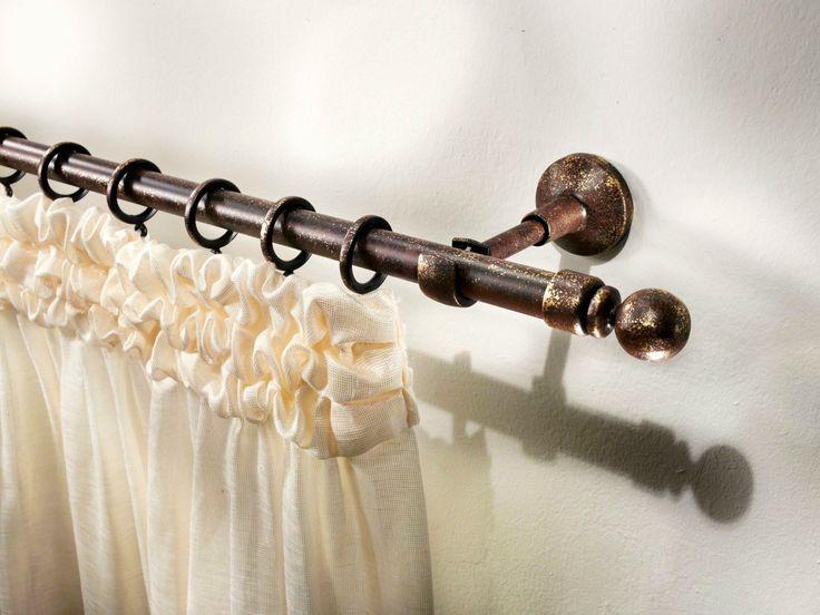Gardinenstange aus Schmiedeeisen im klassischen Stil ALUNDRA - Scaglioni
