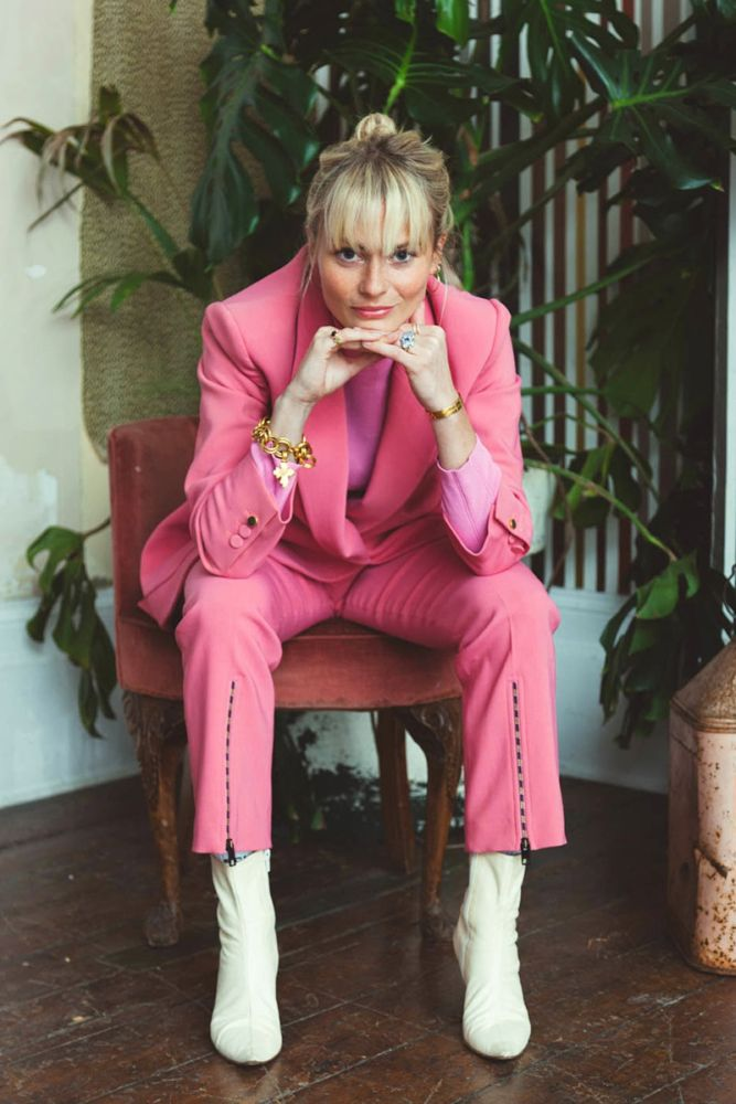 Writer Pandora Sykes discusses her latest obsession, the pink suit.
