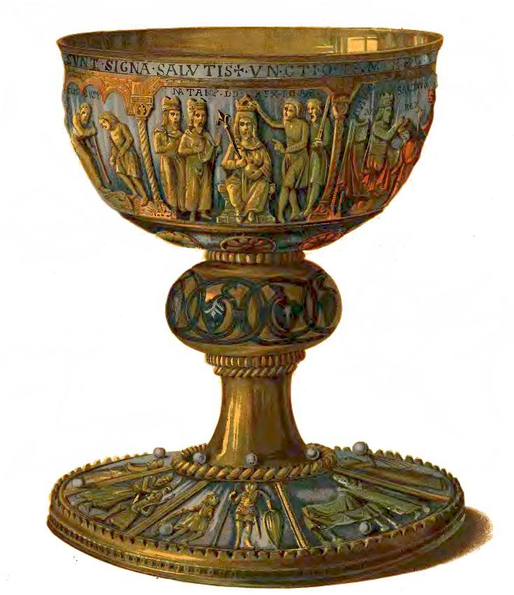 kielich królweski z Trzemeszna, XII wiek, Mieszko III (znów)
