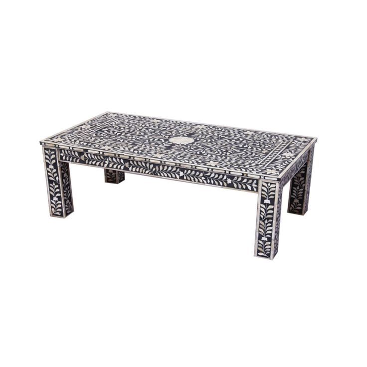 Debenhams Bone inlay 'Ankara' coffee table- at Debenhams.com
