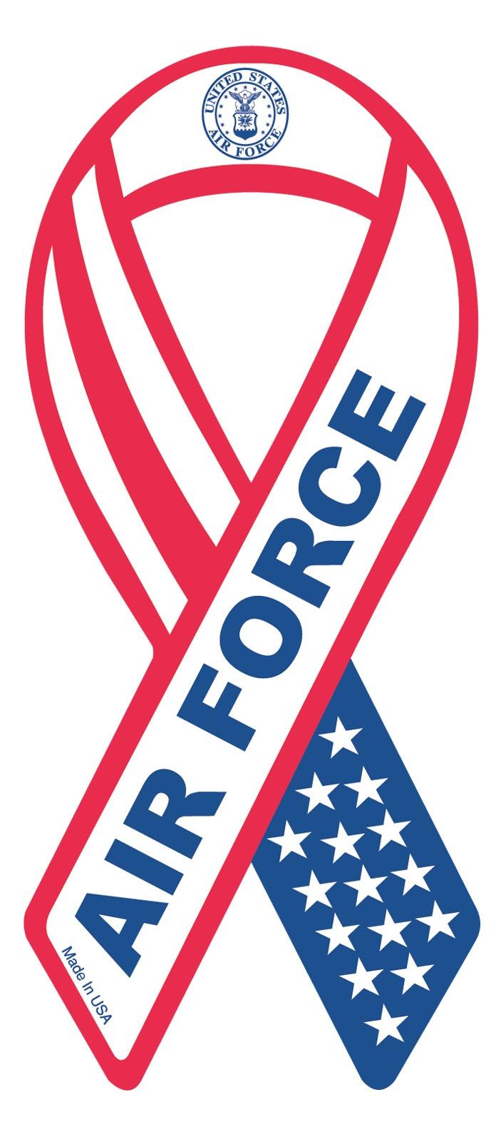 US Air Force Ribbon Magnet, $1.99