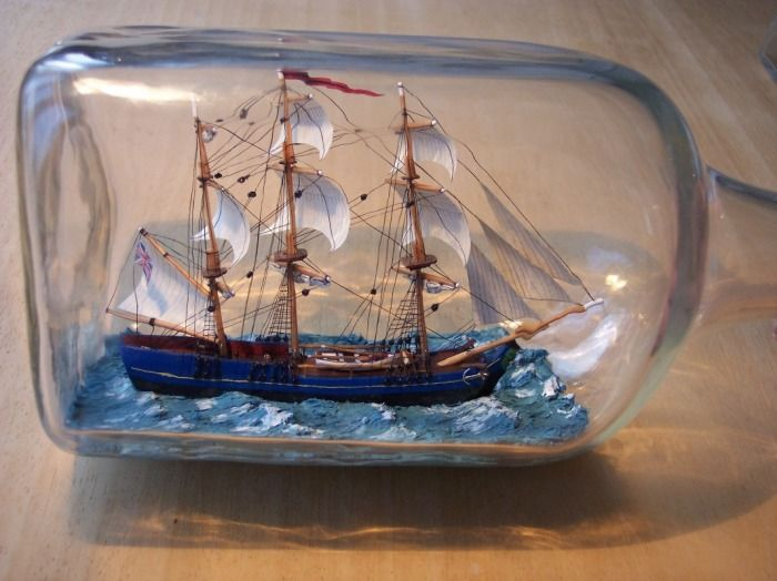 HMS Bounty, Ship in bottle