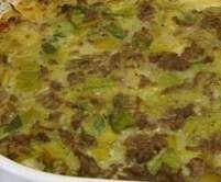 Rezept Kartoffel-Lauch Auflauf mit Hackfleisch von Weber330 - Rezept der Kategorie Hauptgerichte mit Fleisch