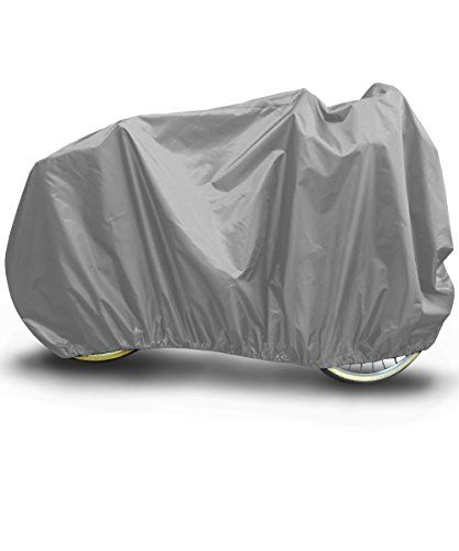 Budge Rust-Oleum Stops Rust Motorcycle Cover Motorcycles up to 96 Long (Gray)