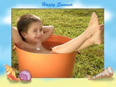 I Am Enjoying Summer Vacations