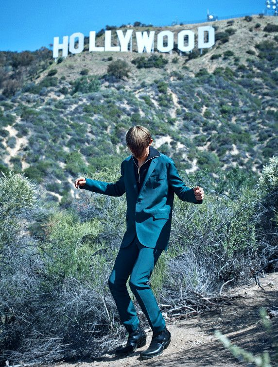 "Robbie McKinnon in ""Frankie Gose to Hollywood"" Ph Lowe Seger for Dansk Magazine"