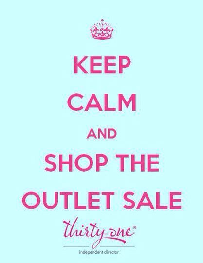 Shop the THIRTY ONE Outlet Sale with me ! Online only -Dec.28 -2pm EST thru Dec.29 12midnight pacific standard time -  mythirtyone.com/carlacannoy