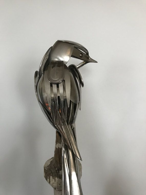 how to make silverware art