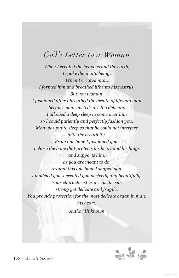 Open When Love Letter Ideas God's Letter to Woman ...
