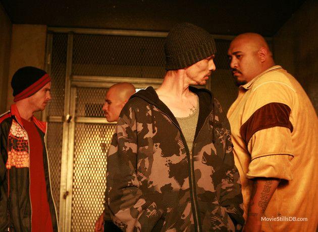 Breaking Bad - Publicity still of Aaron Paul, Jesus Jr, Charles Baker & Cesar Garcia