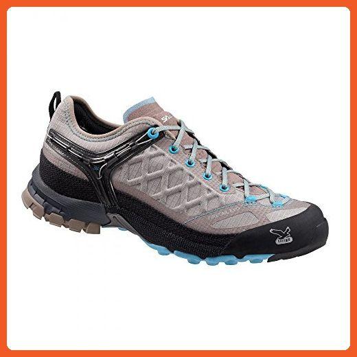Salewa Women's Firetail Evo Shoes Juta / River Blue 7.5 & Hiking Sock Bundle - Outdoor shoes for women (*Amazon Partner-Link)