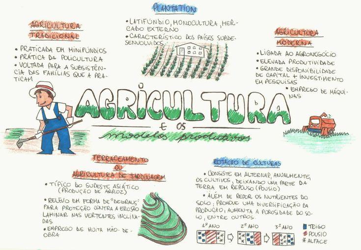 Desconversa | Mapa Mental: Agricultura e Modelos Produtivos