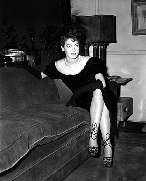 Ava Gardner, 1950.