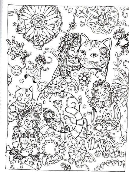 31 best Criative Cats para colorir images on Pinterest   Katzen ...