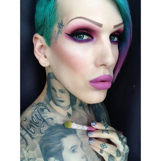 Makeup artist jeffree star