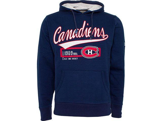 Sweat à capuche avec le logo des Canadiens de Montréal