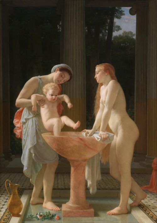 Charles Gleyre Swiss, active France, 1806–1874 The Bath, 1868 Oil on canvas Chrysler Museum