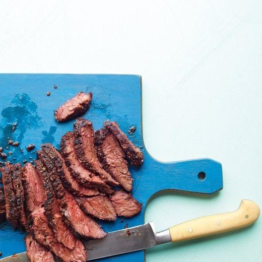 Coriander-Crusted Hanger Steak | Recipe