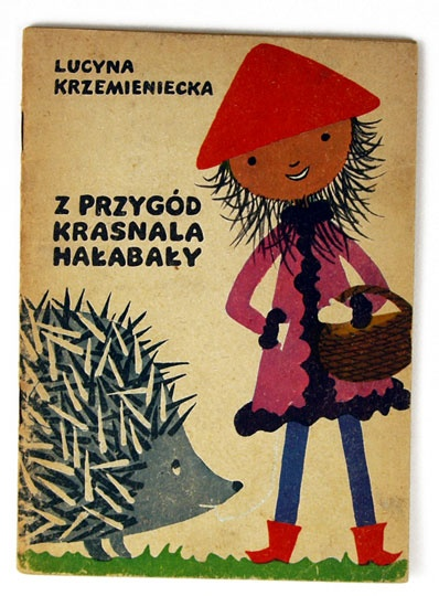 What?  A hedge hog and Polish?  Perfect, cuteness.  Book cover, Poland