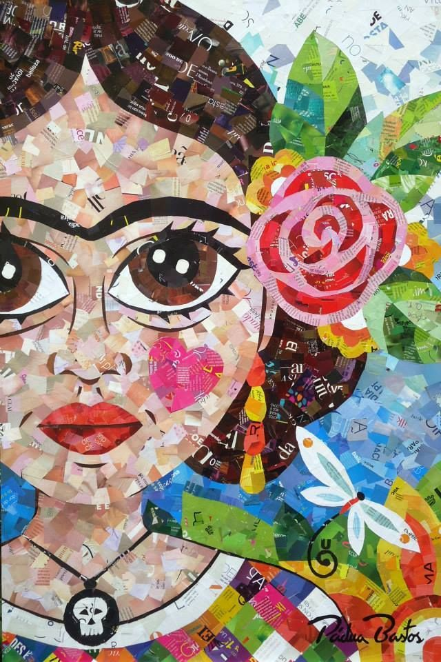 Frida Kahlo Mixed Media Art