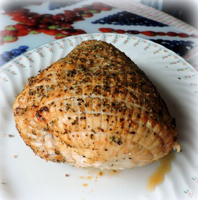 how to cook a boneless turkey breast in the oven