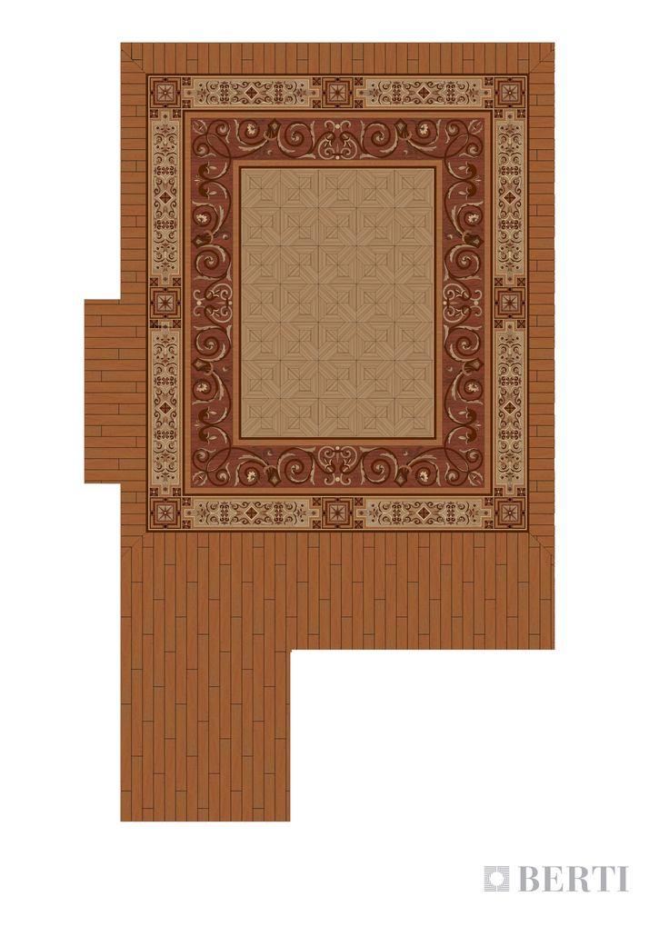 Berti-Wooden-Floors-render-the-cigar-room #parquet #parquetlovers