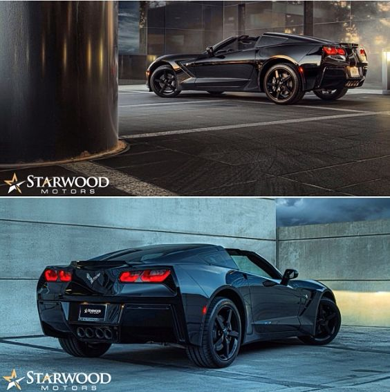 2014 Corvette Stingray. #starwood #corvette #chevy #stingray #black #cars #follow #me
