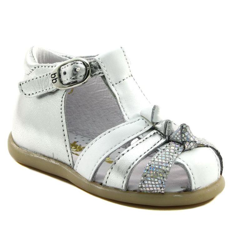 115A BABYBOTTE GUIMAUVE BLANC www.ouistiti.shoes le spécialiste internet  #chaussures #bébé, #enfant, #fille, #garcon, #junior et #femme collection printemps été 2017