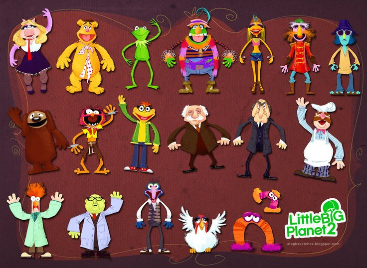 Little Big Muppets by *Steph-Laberis on deviantART