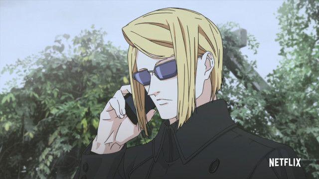 Original Police Thriller Anime Hero Mask Heads To Netflix In