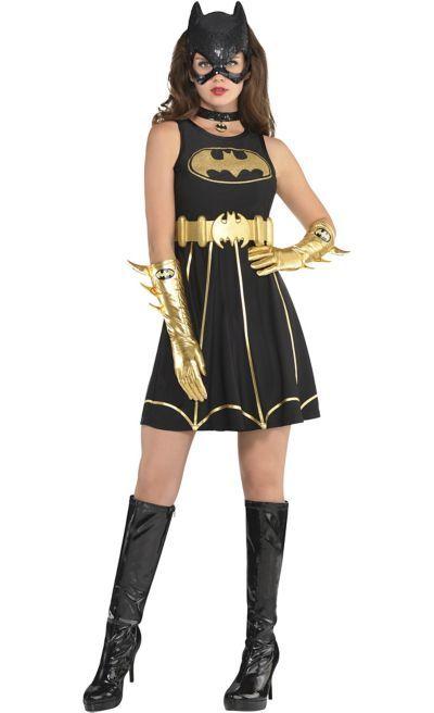 Captivating Adult Batgirl Fit U0026 Flare Dress   Batman | Costume Ideas And Inspiration |  Pinterest | Batman, Batgirl And Batman Costumes