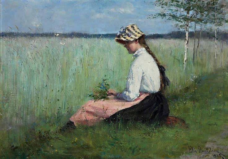 Elin Kleopatra Danielson Gambogi (Finland 1861-1919)