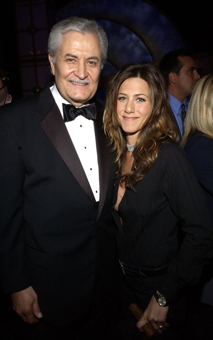 Jennifer Aniston's  with her father John Aniston