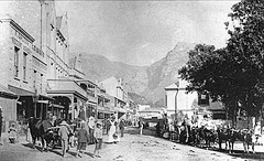 St. George's Street, Simon's Town late 1800s